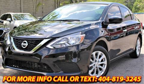 2019 Nissan Sentra for sale at Five Brothers Auto Sales in Roswell GA