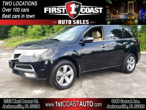 2010 Acura MDX for sale at 1st Coast Auto -Cassat Avenue in Jacksonville FL