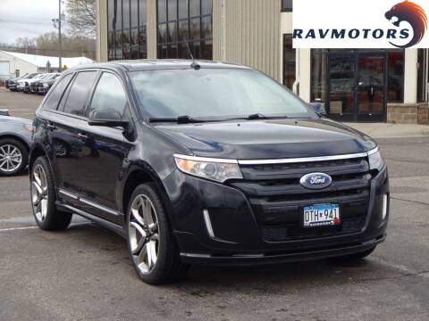 2013 Ford Edge for sale at RAVMOTORS 2 in Crystal MN