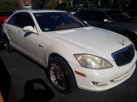 2007 Mercedes-Benz S-Class for sale at LAND & SEA BROKERS INC in Deerfield FL