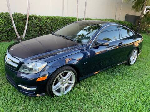 2012 Mercedes-Benz C-Class for sale at Ven-Usa Autosales Inc in Miami FL