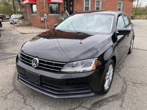 2018 Volkswagen Jetta for sale at Ludlow Auto Sales in Ludlow MA