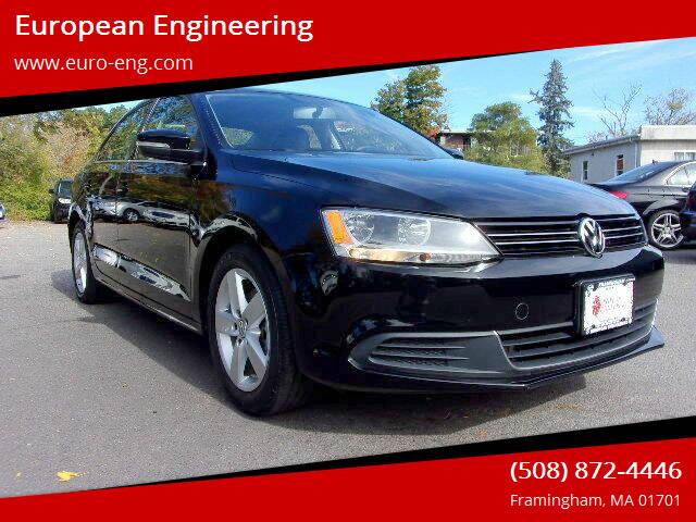 2013 Volkswagen Jetta for sale at European Engineering in Framingham MA