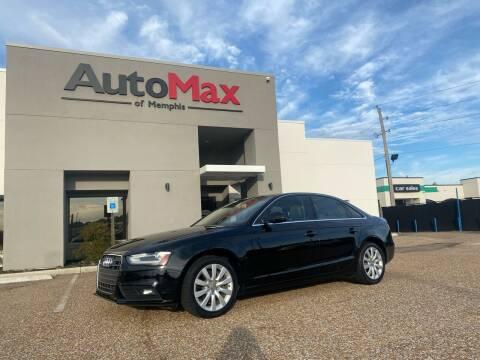 2013 Audi A4 for sale at AutoMax of Memphis - Alex Vivas in Memphis TN