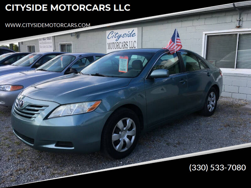 2009 Toyota Camry for sale at CITYSIDE MOTORCARS LLC in Canfield OH