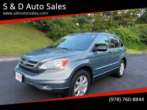2011 Honda CR-V for sale at S & D Auto Sales in Maynard MA