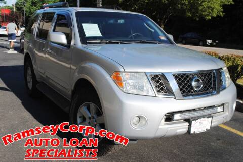 2011 Nissan Pathfinder for sale at Ramsey Corp. in West Milford NJ