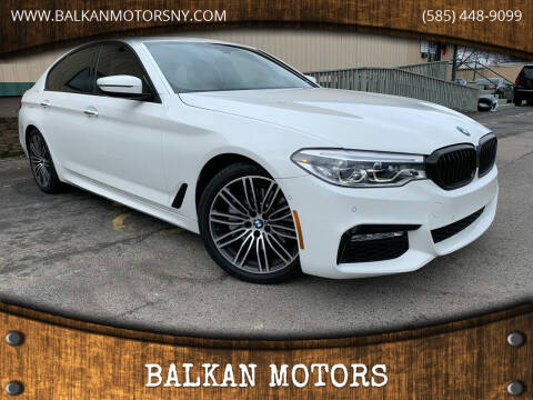2017 BMW 5 Series for sale at BALKAN MOTORS in East Rochester NY