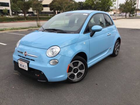 2015 FIAT 500e for sale at Tri City Auto Sales in Whittier CA