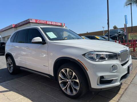 2018 BMW X5 for sale at CARCO SALES & FINANCE - CARCO OF POWAY in Poway CA