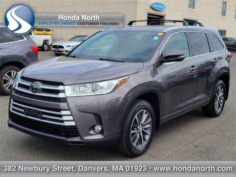 2018 Toyota Highlander for sale at 1 North Preowned in Danvers MA