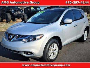 2011 Nissan Murano for sale at AMG Automotive Group in Cumming GA