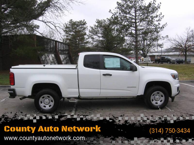 2017 Chevrolet Colorado for sale at County Auto Network in Ballwin MO