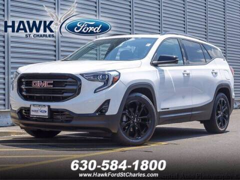 2019 GMC Terrain for sale at Hawk Ford of St. Charles in St Charles IL