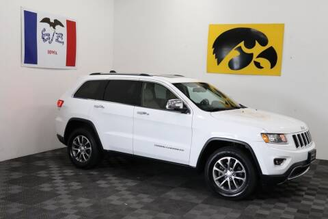 2014 Jeep Grand Cherokee for sale at Carousel Auto Group in Iowa City IA