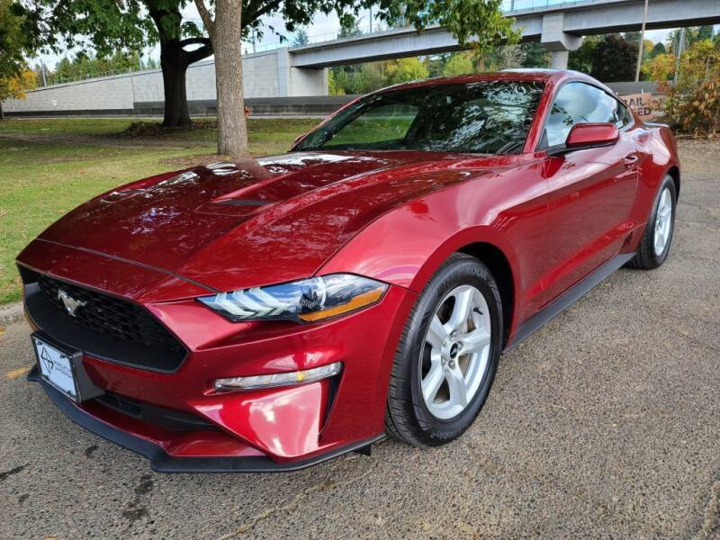 2018 Ford Mustang for sale at EXECUTIVE AUTOSPORT in Portland OR