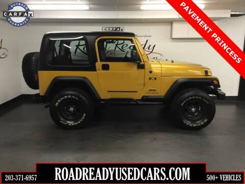 2003 Jeep Wrangler for sale at Road Ready Used Cars in Ansonia CT