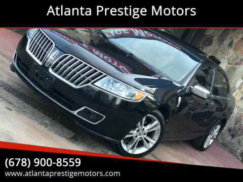 2012 Lincoln MKZ for sale at Atlanta Prestige Motors in Decatur GA
