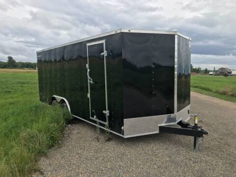 2022 Wells Cargo 8.5x20 V-Nose Tandem Axle (7K) for sale at Forkey Auto & Trailer Sales in La Fargeville NY