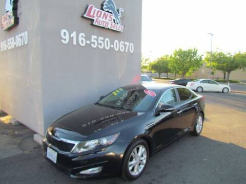 2012 Kia Optima for sale at LIONS AUTO SALES in Sacramento CA