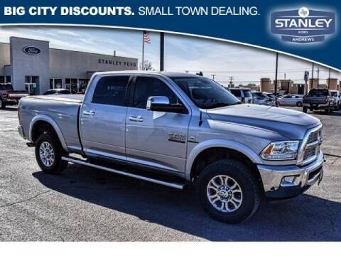 2017 RAM Ram Pickup 2500 for sale at STANLEY FORD ANDREWS in Andrews TX