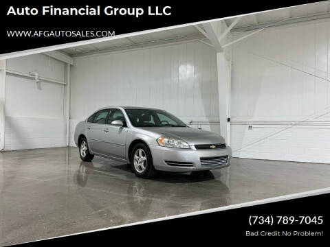 2007 Chevrolet Impala for sale at Auto Financial Group LLC in Flat Rock MI