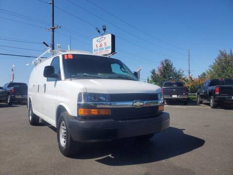 2018 Chevrolet Express Cargo for sale at S&S Best Auto Sales LLC in Auburn WA