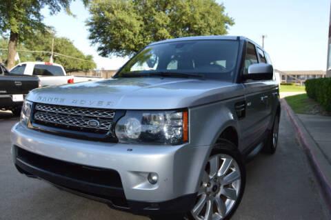 2013 Land Rover Range Rover Sport for sale at E-Auto Groups in Dallas TX