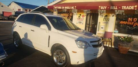 2013 Chevrolet Captiva Sport for sale at ANYTHING ON WHEELS INC in Deland FL