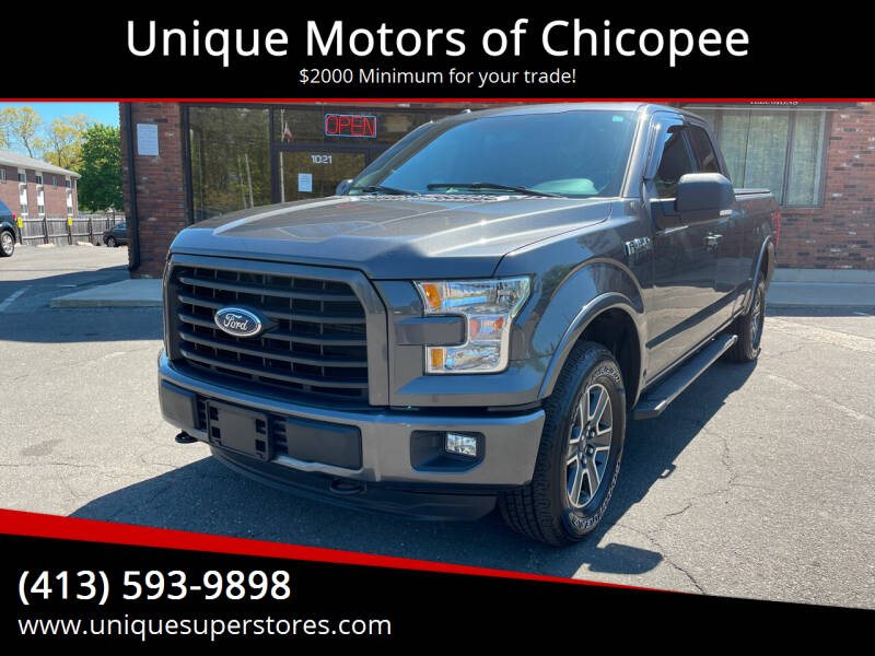2015 Ford F-150 for sale at Unique Motors of Chicopee in Chicopee MA