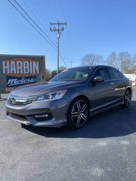 2016 Honda Accord for sale at Harbin Motors in Portland TN