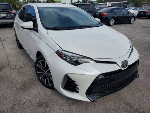 2017 Toyota Corolla for sale at Mars auto trade llc in Kissimmee FL