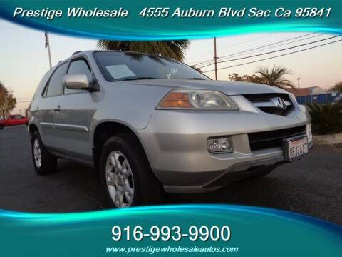 2005 Acura MDX for sale at Prestige Wholesale in Sacramento CA