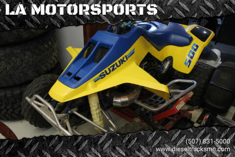 1987 Suzuki LT500R for sale at LA MOTORSPORTS in Windom MN