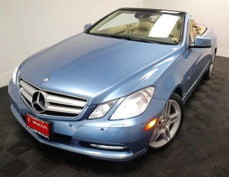 2012 Mercedes-Benz E-Class for sale at CarNova in Stafford VA