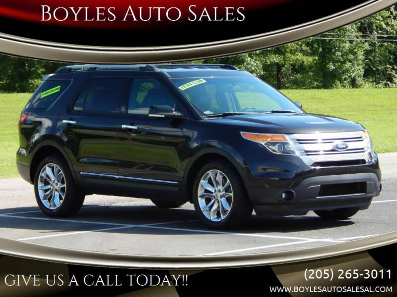 2014 Ford Explorer for sale at Boyles Auto Sales in Jasper AL