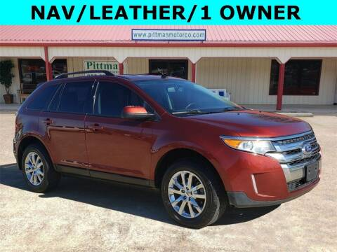 2014 Ford Edge for sale at PITTMAN MOTOR CO in Lindale TX