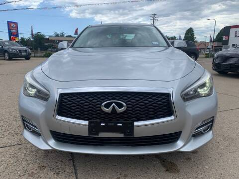 2015 Infiniti Q50 for sale at Minuteman Auto Sales in Saint Paul MN