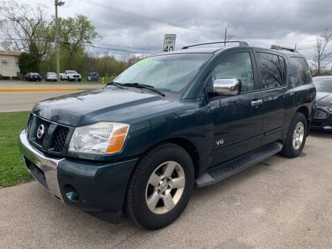 2007 Nissan Armada for sale at GLOBAL AUTOMOTIVE in Gages Lake IL