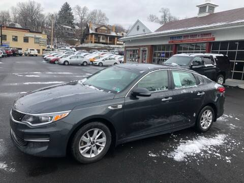 2016 Kia Optima for sale at Fellini Auto Sales & Service LLC in Pittsburgh PA