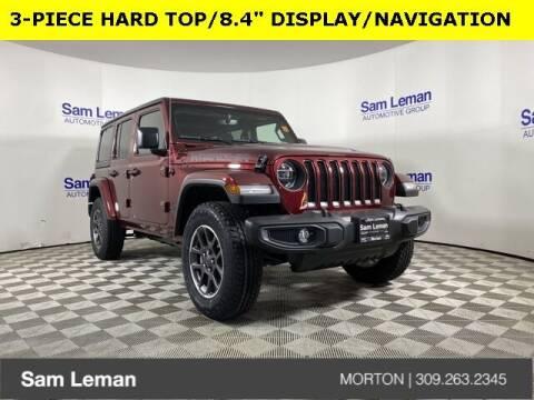 2021 Jeep Wrangler Unlimited for sale at Sam Leman CDJRF Morton in Morton IL