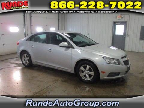 2013 Chevrolet Cruze for sale at Runde Chevrolet in East Dubuque IL