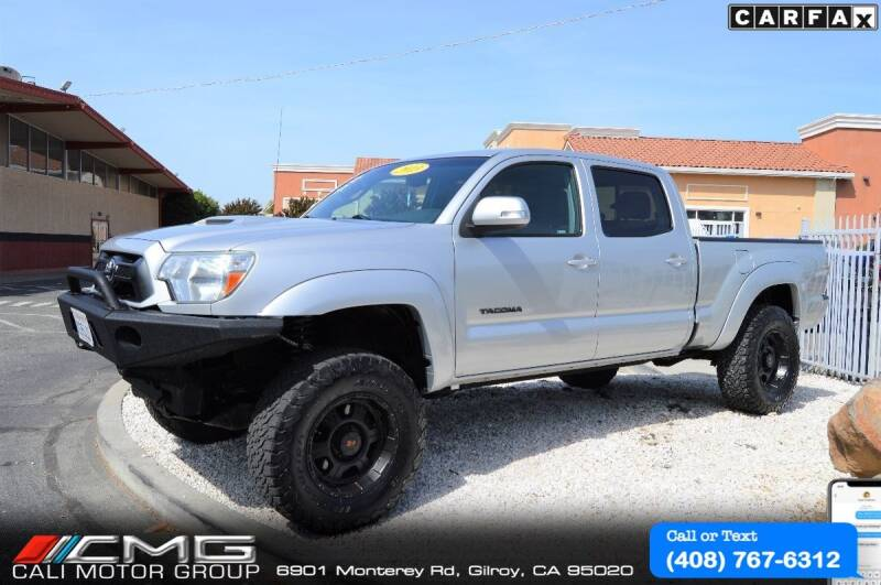 2013 Toyota Tacoma for sale at Cali Motor Group in Gilroy CA