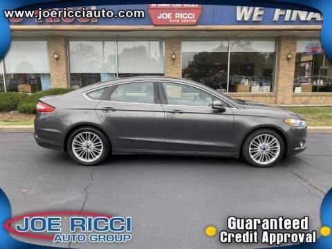2016 Ford Fusion for sale at JOE RICCI AUTOMOTIVE in Clinton Township MI