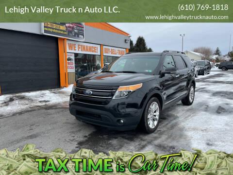2012 Ford Explorer for sale at Lehigh Valley Truck n Auto LLC. in Schnecksville PA