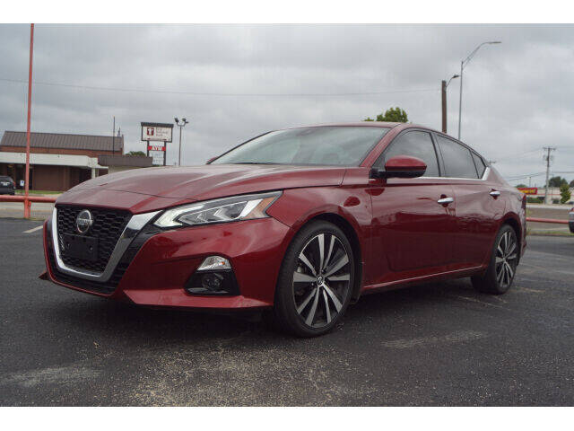 2019 Nissan Altima for sale at Monthly Auto Sales in Fort Worth TX