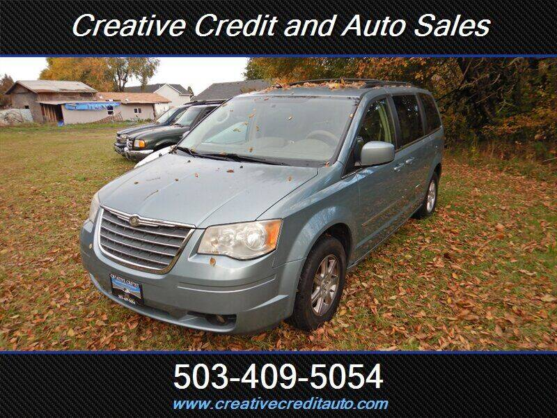 2010 Chrysler Town and Country for sale at Creative Credit & Auto Sales in Salem OR