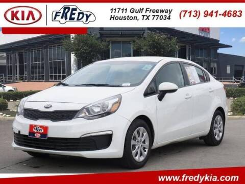 2016 Kia Rio for sale at FREDYS CARS FOR LESS in Houston TX