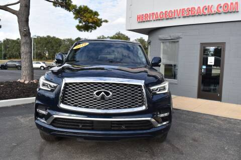 2019 Infiniti QX80 for sale at Heritage Automotive Sales in Columbus in Columbus IN