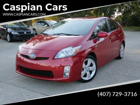 2011 Toyota Prius for sale at Caspian Cars in Sanford FL